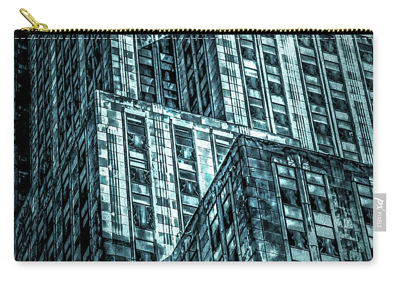 American Carry-all Pouch featuring the digital art Urban Grunge Collection Set - 11 by Az Jackson