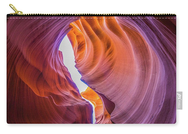 Antelope Canyon Carry-all Pouch featuring the photograph Usa, Arizona, Antelope Canyon, Close-up by Tiffanynguyen