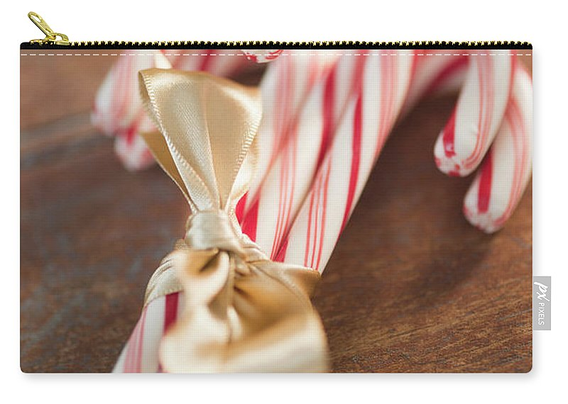 Close-up Carry-all Pouch featuring the photograph Usa, New Jersey, Jersey City, Candy by Jamie Grill
