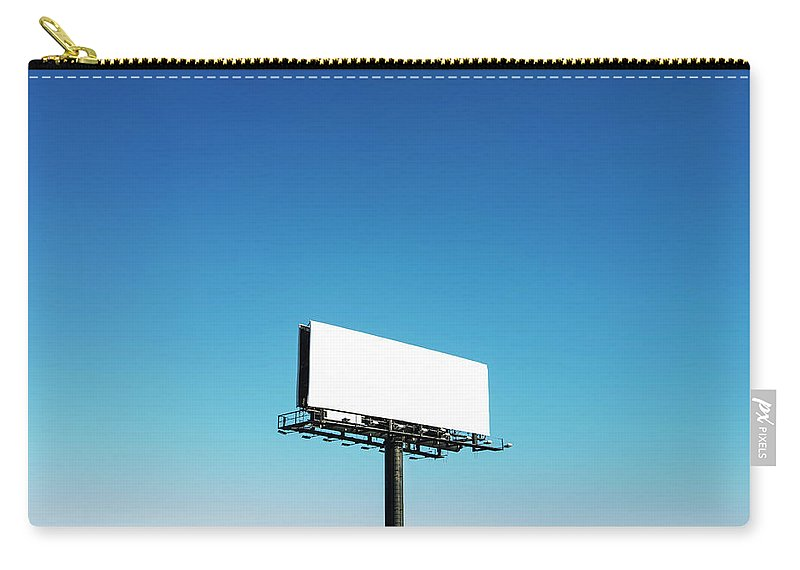 North Carolina Carry-all Pouch featuring the photograph Usa, North Carolina, Billboard Under by Tetra Images