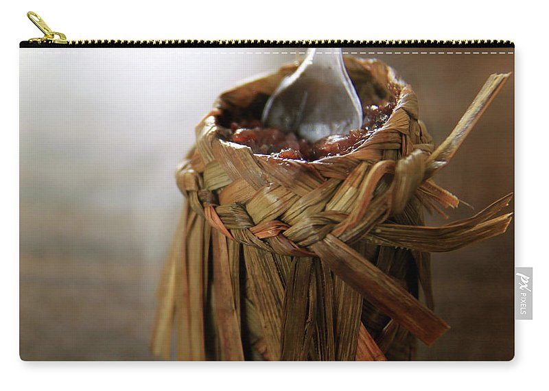 Chinese Culture Carry-all Pouch featuring the photograph Vanilla Rice by 100