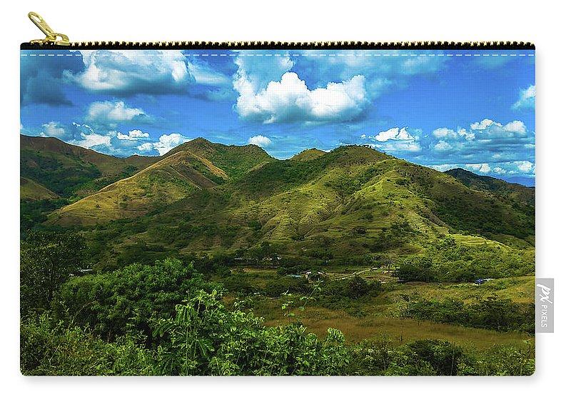 Fondo De Montañas Carry-all Pouch featuring the photograph Villa De Cura by Daniel Alves
