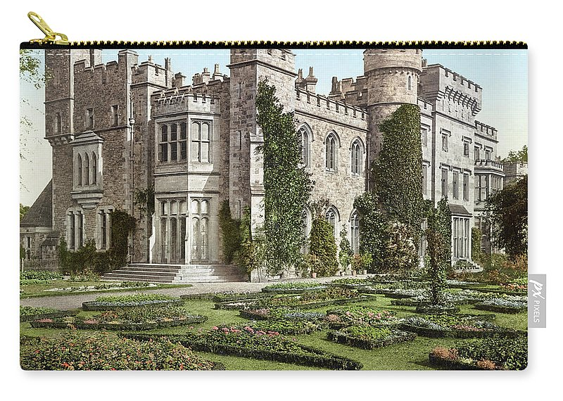 B1019 Carry-all Pouch featuring the photograph The New Hawarden Castle, C1900 by Granger