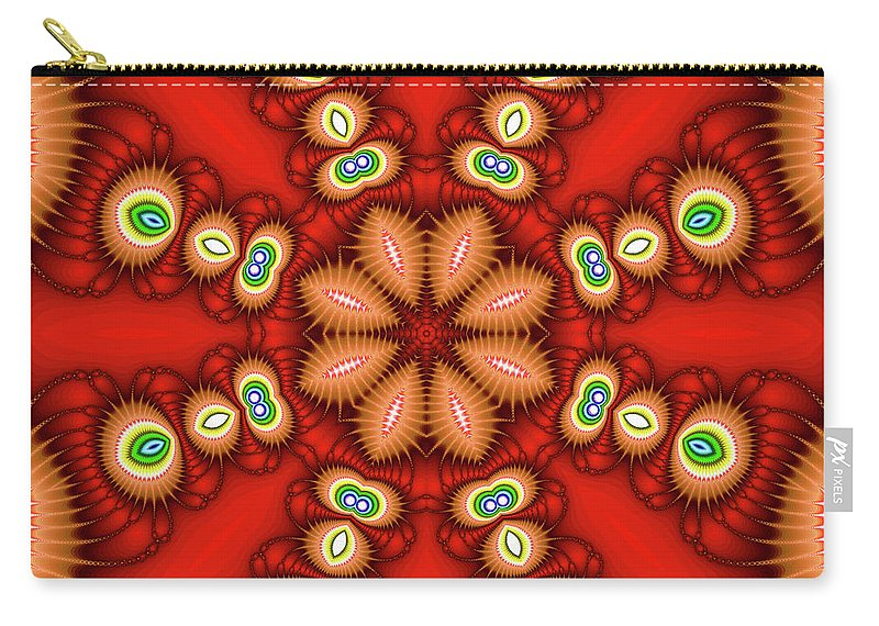 Art Carry-all Pouch featuring the photograph Watcher's Eyes by Ester McGuire