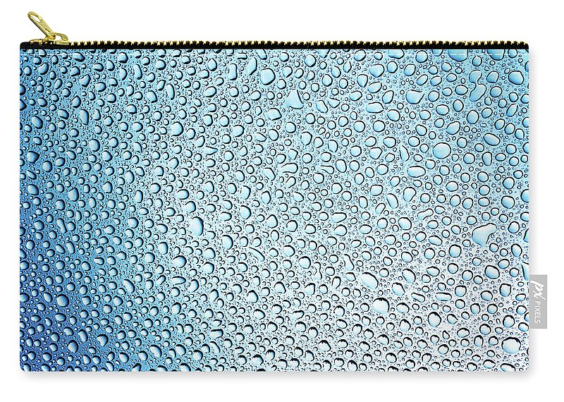 Purity Carry-all Pouch featuring the photograph Water Drops by Picturegarden