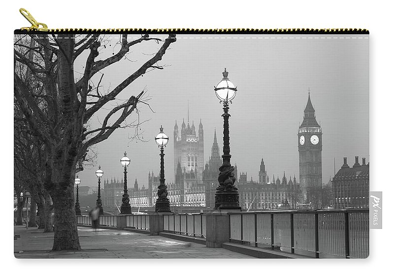 Scenics Carry-all Pouch featuring the photograph Westminster At Dawn, London by Gp232