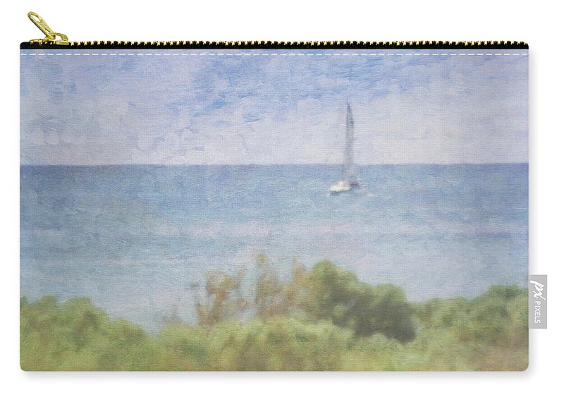 Tranquility Carry-all Pouch featuring the photograph When Your Boat Comes In by Craig Hewson
