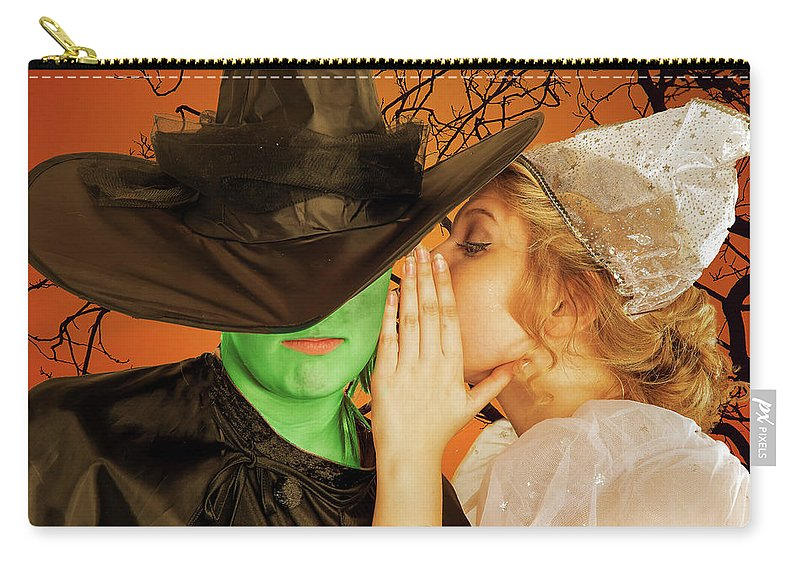 Broadway Carry-all Pouch featuring the photograph Wicked 2 by Alan D Smith