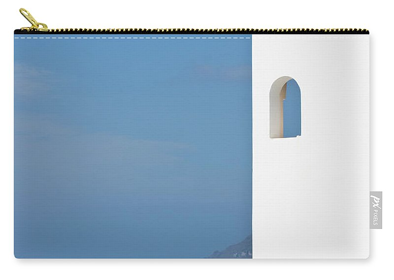 Greece Carry-all Pouch featuring the photograph Windows To The Blue by Arturbo