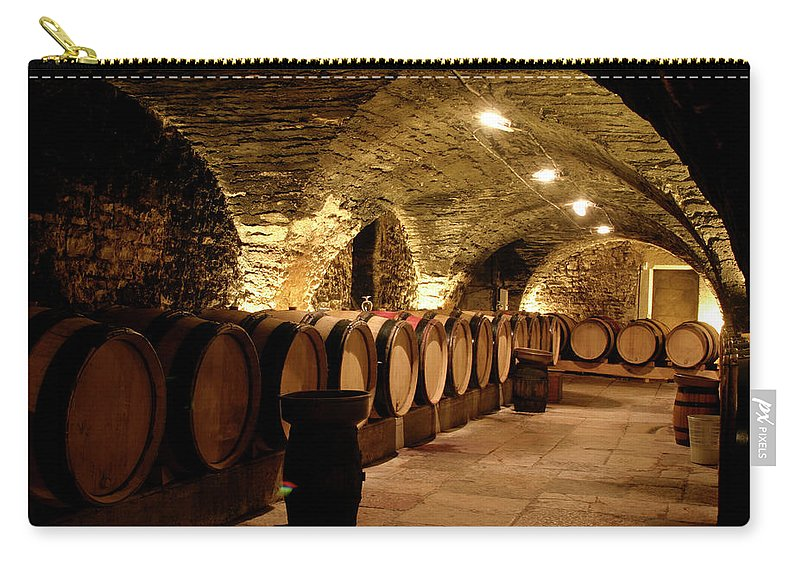 Arch Carry-all Pouch featuring the photograph Wine Cellar by Brasil2