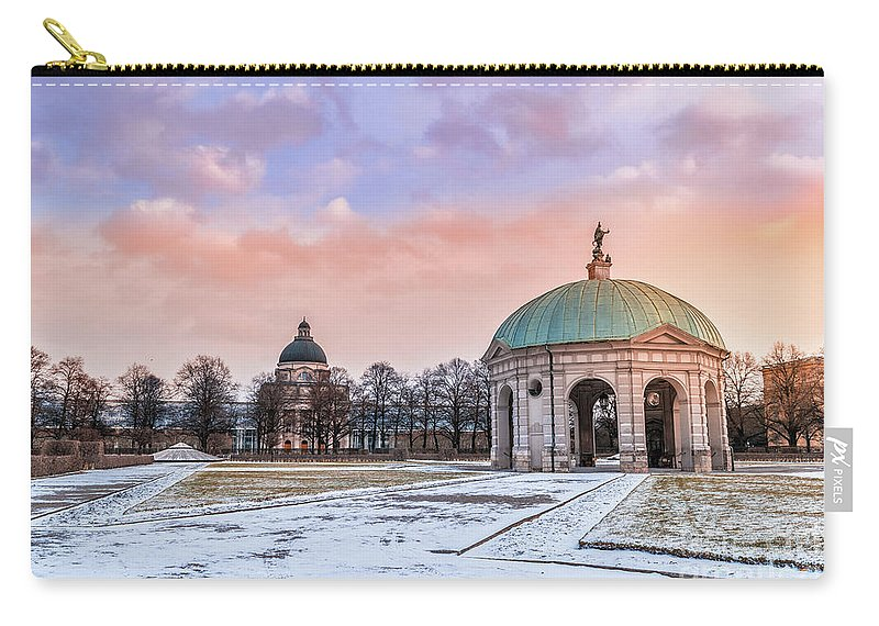 Munich Carry-all Pouch featuring the photograph Winter Is Coming by Nato Manzolli