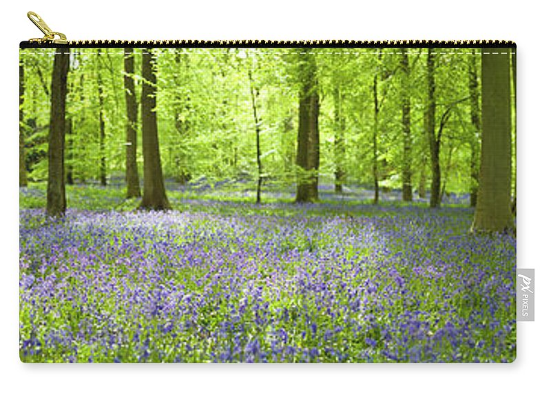 Scenics Carry-all Pouch featuring the photograph Wonderful Woodland by Pkfawcett