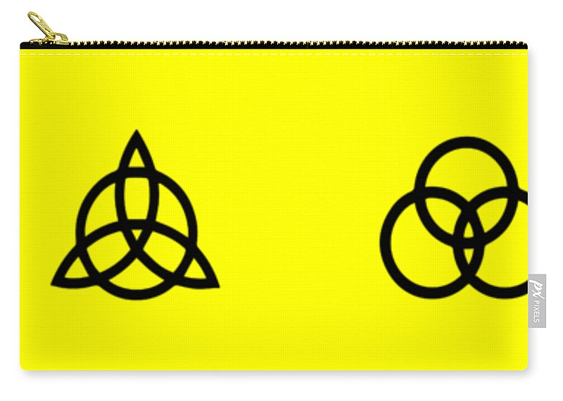 Led Zeppelin Carry-all Pouch featuring the digital art Z O S O Led Zeppelin Logo For T-shirt by Daniel Hagerman