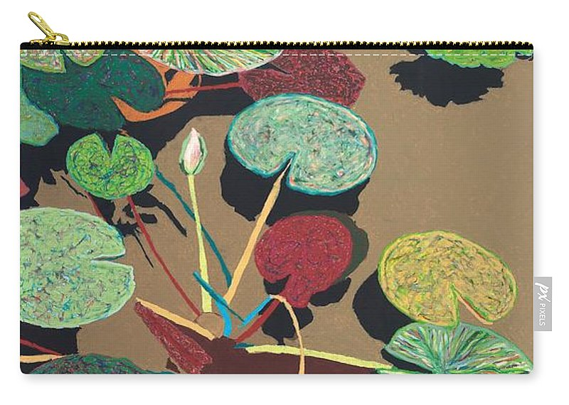 Landscape Carry-all Pouch featuring the painting Catfish Corner by Allan P Friedlander