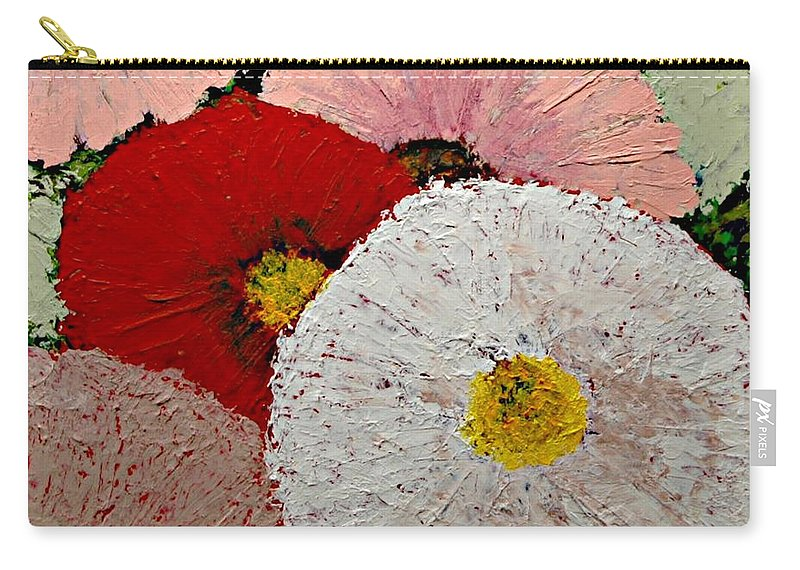 Landscape Carry-all Pouch featuring the painting From the Garden by Allan P Friedlander