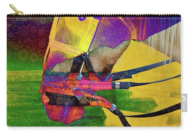 Visionary Carry-all Pouch featuring the digital art Visionary by Skip Hunt
