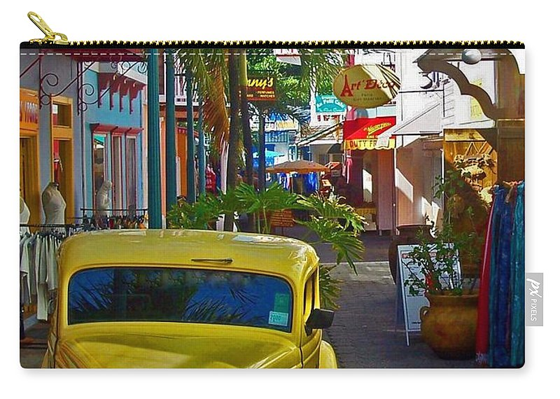 St. Martin Carry-all Pouch featuring the photograph Nice Ride by Debbi Granruth