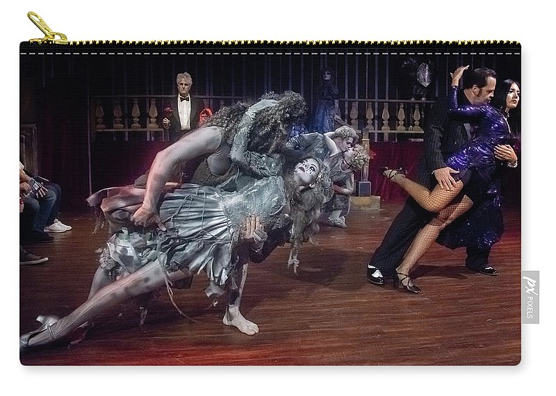 Adams Family Carry-all Pouch featuring the photograph Adams Family Dance by Alan D Smith