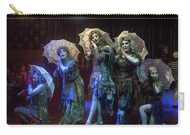 Adams Family Carry-all Pouch featuring the photograph Adams Family the Ancestors by Alan D Smith