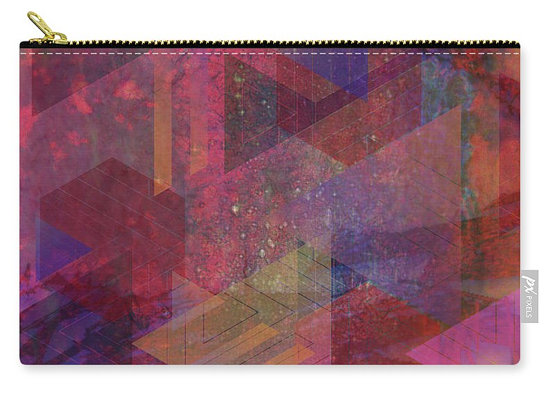 Another Place Carry-all Pouch featuring the digital art Another Place by John Robert Beck