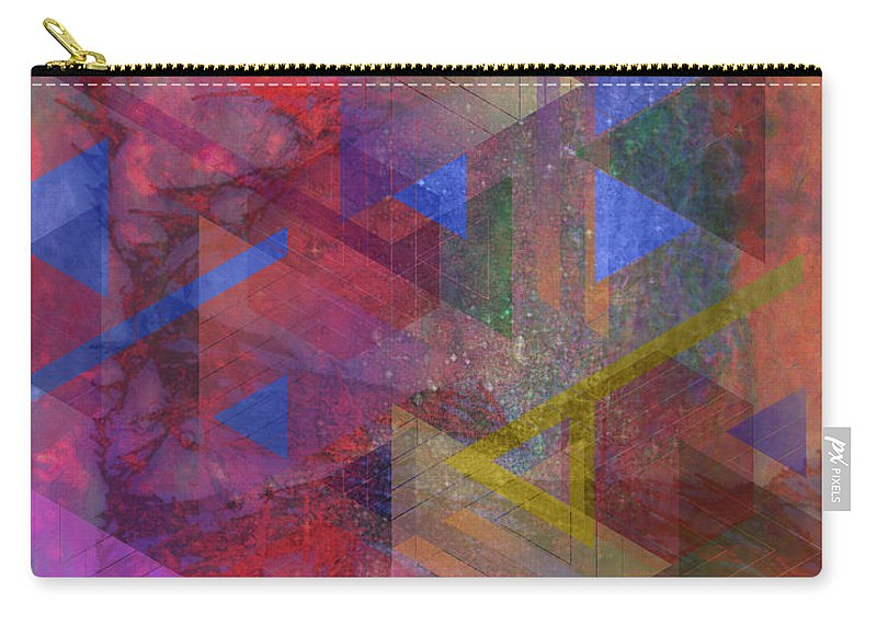 Another Time Carry-all Pouch featuring the digital art Another Time by John Robert Beck