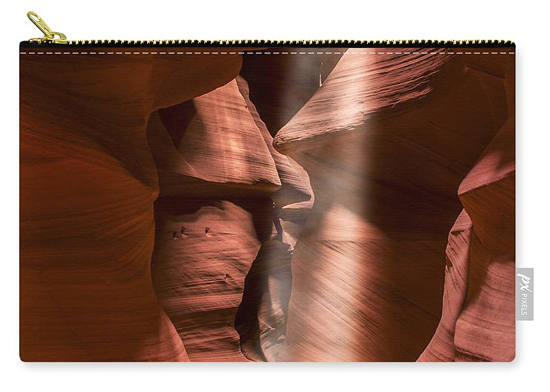 3scape Carry-all Pouch featuring the photograph Antelope Canyon by Adam Romanowicz