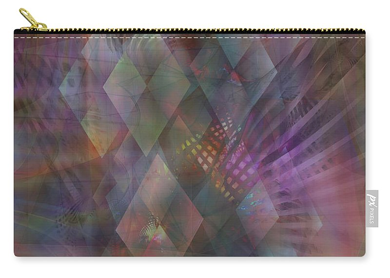 Bedazzled Carry-all Pouch featuring the digital art Bedazzled by John Robert Beck