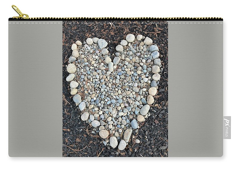Big Hearts Carry-all Pouch featuring the photograph Big Hearts by Shannon Grissom