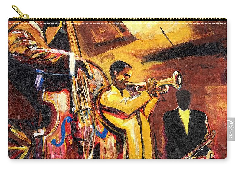 Everett Spruill Carry-all Pouch featuring the painting Birth Of Cool by Everett Spruill