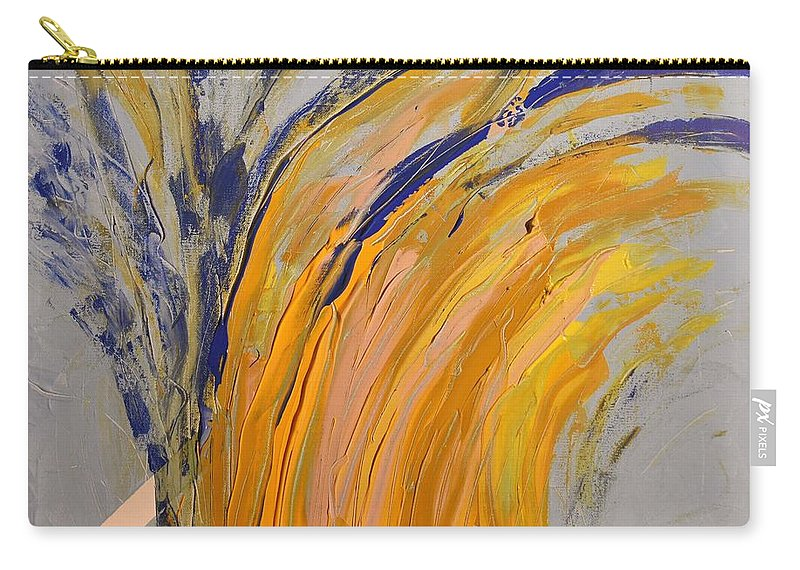 Colorado Carry-all Pouch featuring the painting Bursting by Pam Roth O'Mara