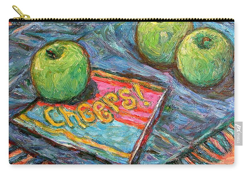 Still Life Carry-all Pouch featuring the painting Cheers by Kendall Kessler