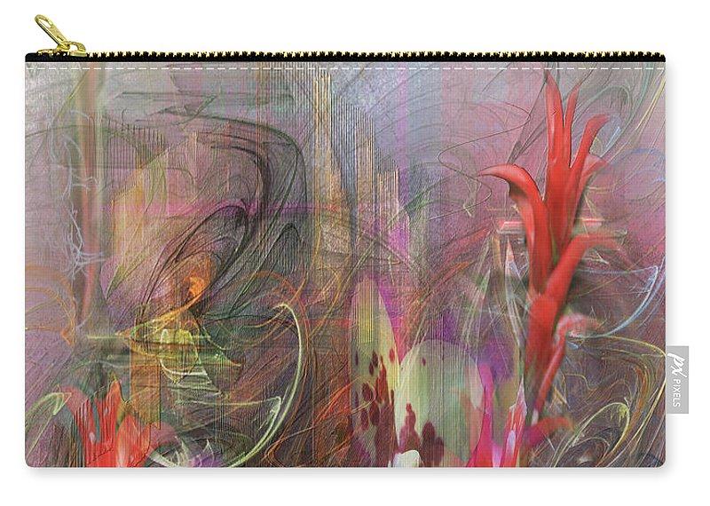 Chosen Ones Carry-all Pouch featuring the digital art Chosen Ones by John Robert Beck