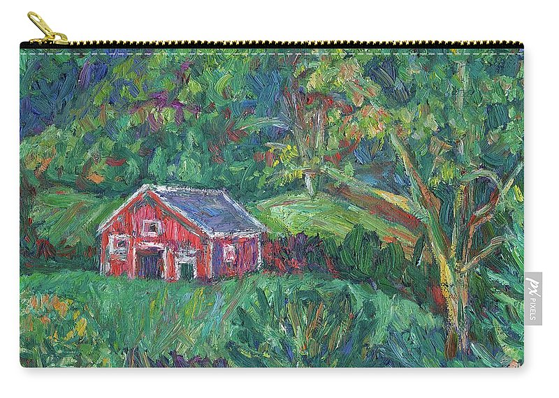 Rural Carry-all Pouch featuring the painting Clover Hollow in Giles County by Kendall Kessler