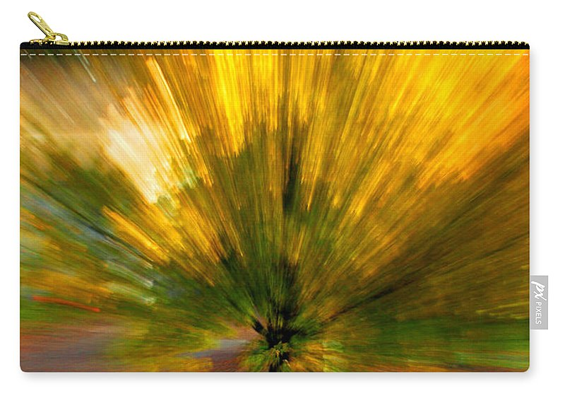 Nature Carry-all Pouch featuring the photograph Color explosion by Linda Sannuti