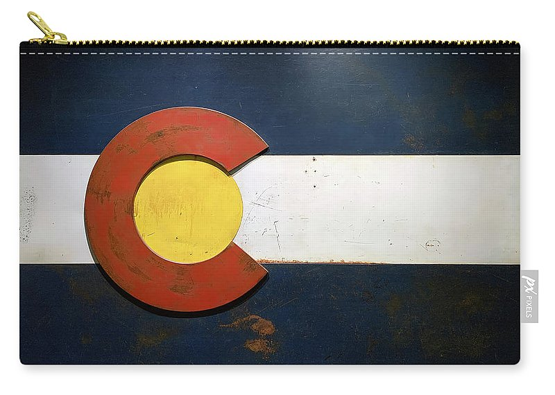 Colorado Carry-all Pouch featuring the photograph Colorado Now by Marilyn Hunt