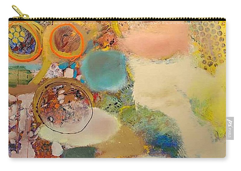 Landscape Carry-all Pouch featuring the painting Concertion for Horn in D by Allan P Friedlander