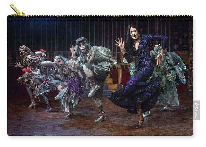 Adams Family Carry-all Pouch featuring the photograph Dance With The Relatives by Alan D Smith