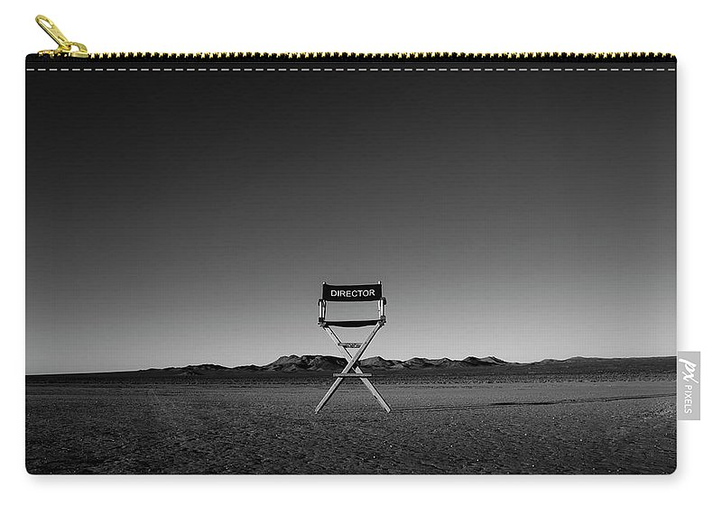 Carry-all Pouch featuring the photograph Director's Cut by Brendan North