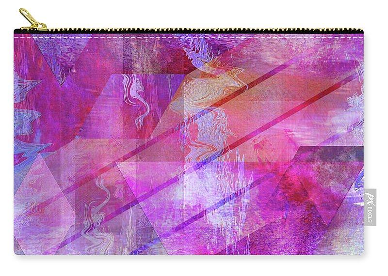 Dragon's Kiss Carry-all Pouch featuring the digital art Dragon's Kiss by John Robert Beck