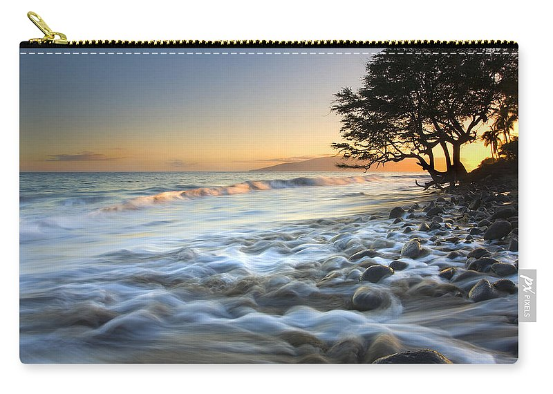 Sea Carry-all Pouch featuring the photograph Ebb and Flow by Mike Dawson
