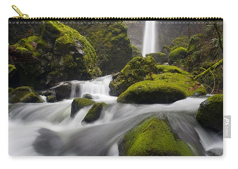 Elowah Carry-all Pouch featuring the photograph Elowah by Mike Dawson