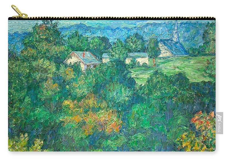Kendall Kessler Carry-all Pouch featuring the painting Fairlawn Ridge by Kendall Kessler