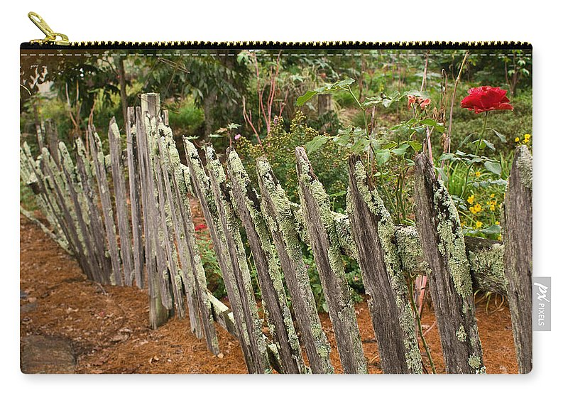 Garden Carry-all Pouch featuring the photograph Garden of peace by Douglas Barnett