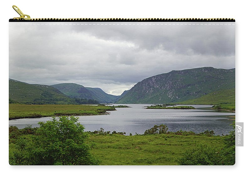 Mountain Carry-all Pouch featuring the photograph Glenveagh National Park by Babett Paul