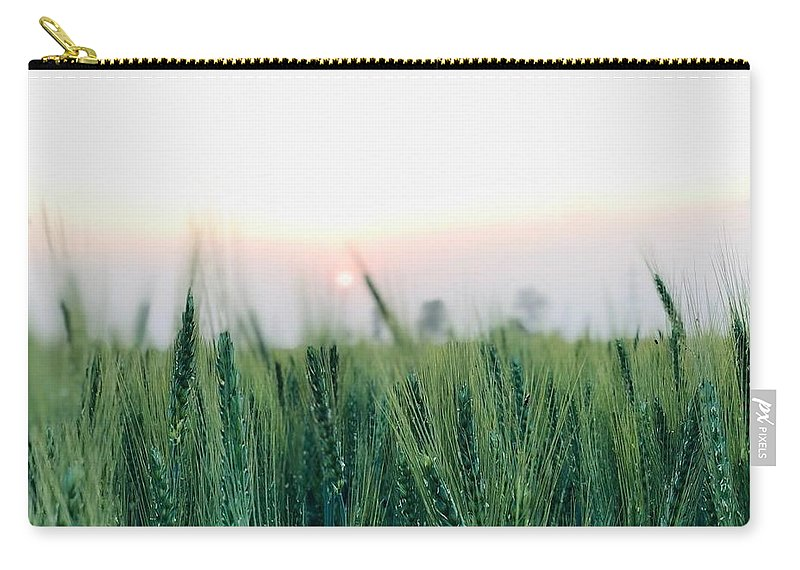 Lanscape Carry-all Pouch featuring the photograph Greenery by Prashant Dalal