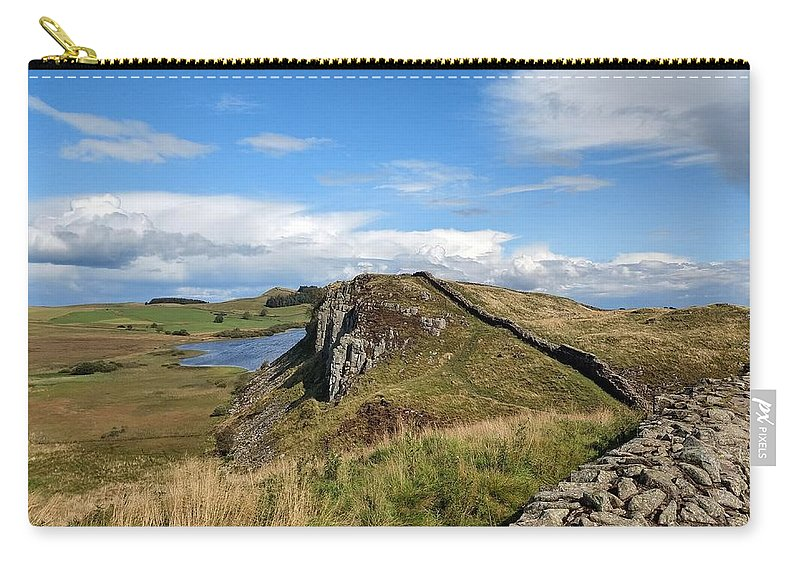 Landscape Carry-all Pouch featuring the photograph Hadrianswall by Pop