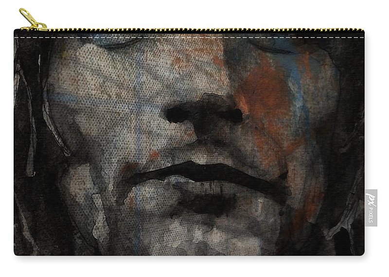 Rod Stewart Carry-all Pouch featuring the painting I Was Only Joking by Paul Lovering
