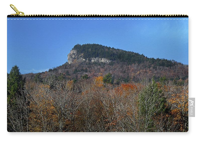 Indian Head Carry-all Pouch featuring the photograph Indian Head New Hampshire by Nancy Griswold