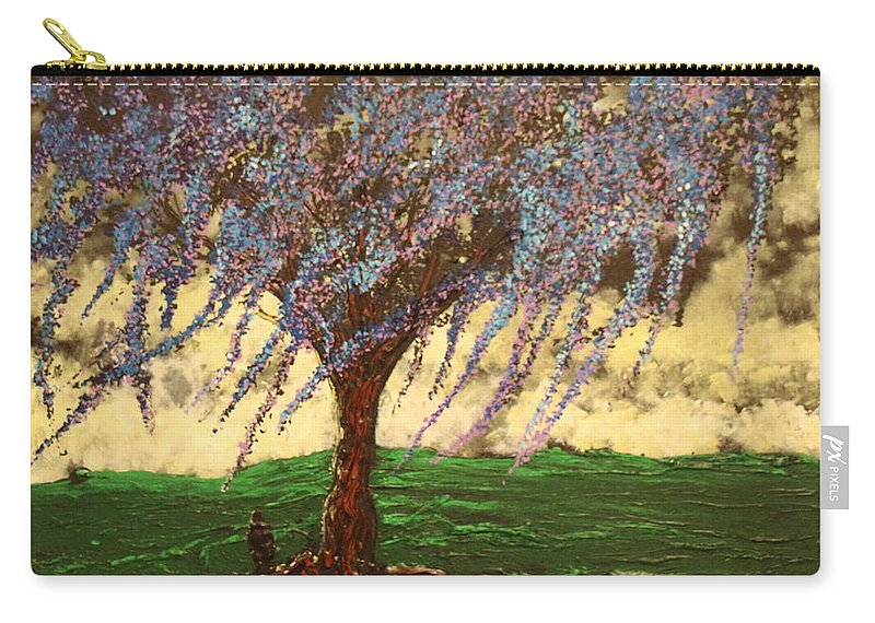 Landscape Carry-all Pouch featuring the painting Inspiration of What Dreams May Come by Stefan Duncan