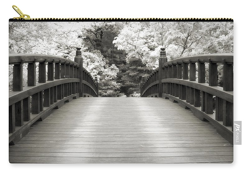 3scape Carry-all Pouch featuring the photograph Japanese Dream Infrared by Adam Romanowicz